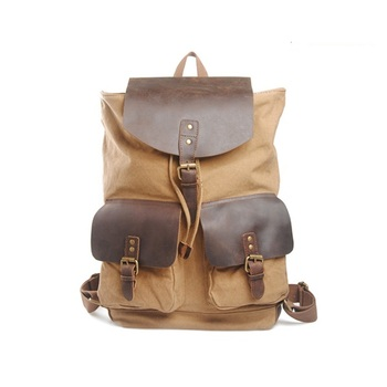 c568e947de15 Top Selling Fashion Casual Funny Backpack Canvas Backpack   Schoolbag for  College Boys   Girls