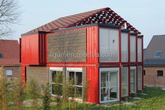 Luxe en acier pr fabriqu villa mer maison conteneur conteneur pr fabriqu ma - Maison prefabrique prix ...