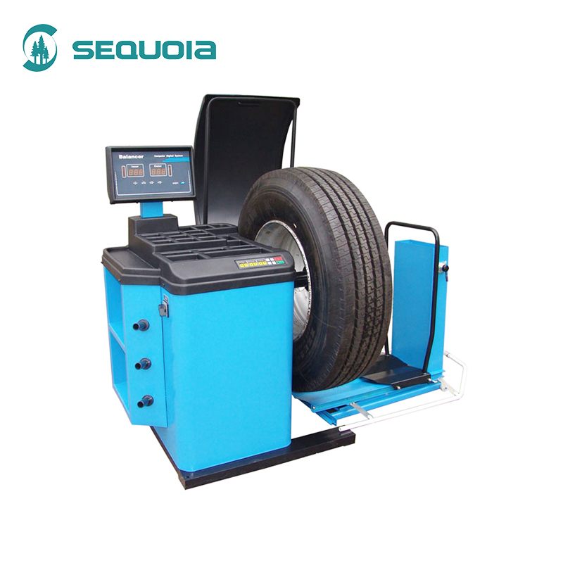 Hand spin manual wheel balancer tyre balancing machine safety factory supply