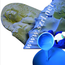 Cement statue molding silicone rubber for Cement silicone molds