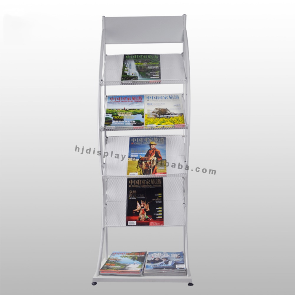 office furniture literature organizer news paper stand holder magazine floor stand rack
