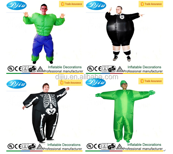 Inflatable costume adult tricky dick