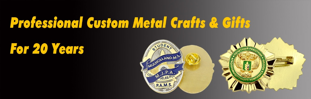 Metal badge maker summit lapel pin peace metal badge custom logo