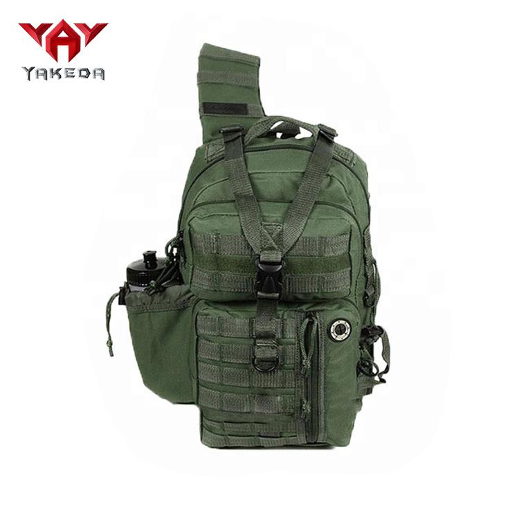 YAKEDA sport en plein air anti-vol sac à bandoulière pour ordinateur portable militaire sac à bandoulière tactique