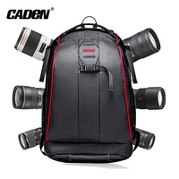 CaDen Large Camera Backpack,Stylish Photography dslr Bag Camera Backpack with Tripod, Accessories, Laptop Spaces