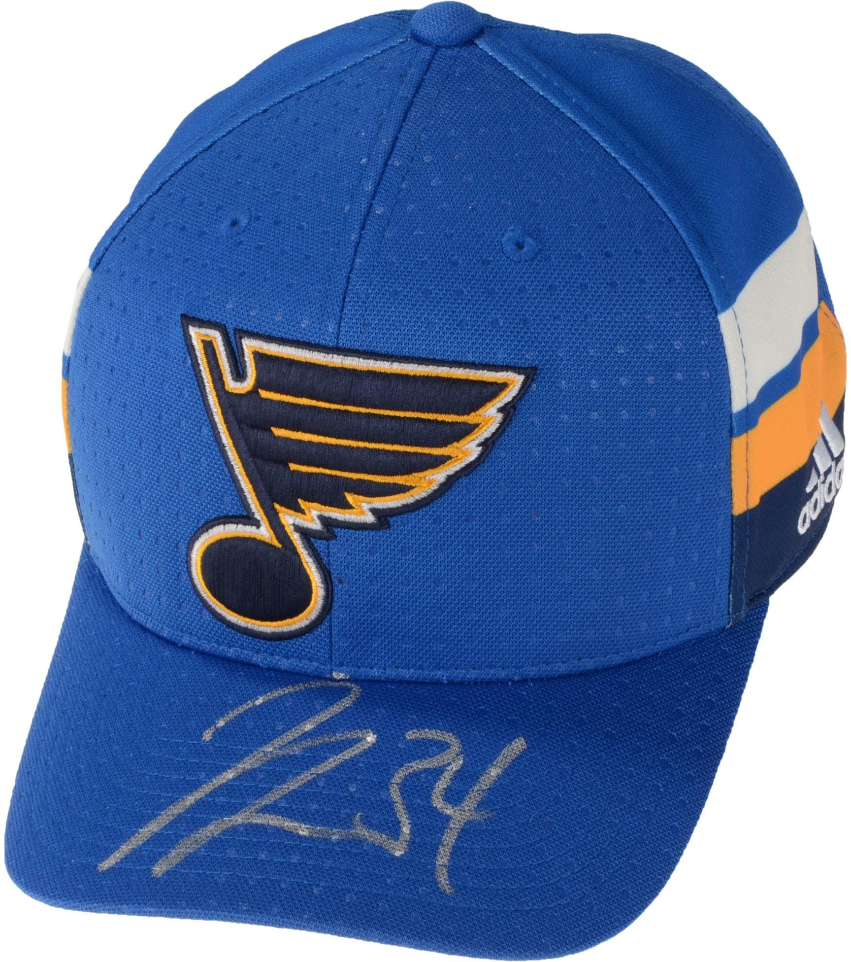 100% authentic 64e5e 961f0 Get Quotations · Jake Allen St. Louis Blues Autographed Adidas Cap -  Fanatics Authentic Certified - Autographed NHL