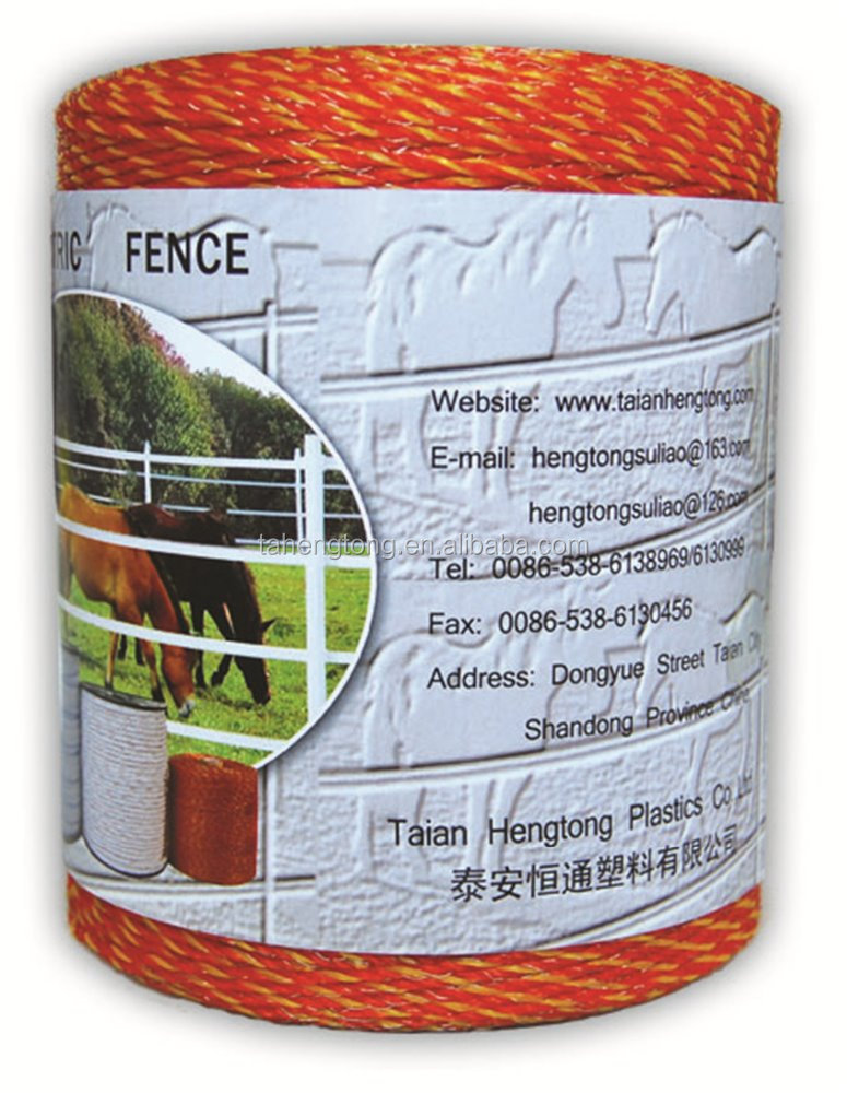 Electric Fence Polywire For Goat Farm Equipment
