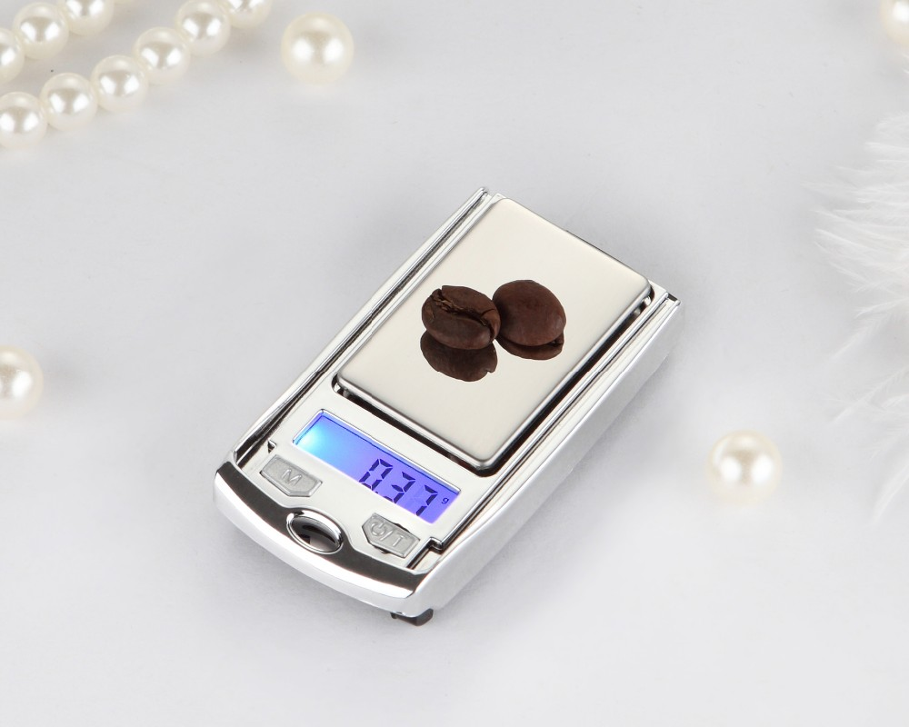 100g x 0.01g Portable Digital Scale Car Key Jewelry Scale