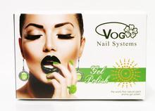 6pcs VOG fashion pure color LED gel nail polish 15ml 268 bright colors for choice