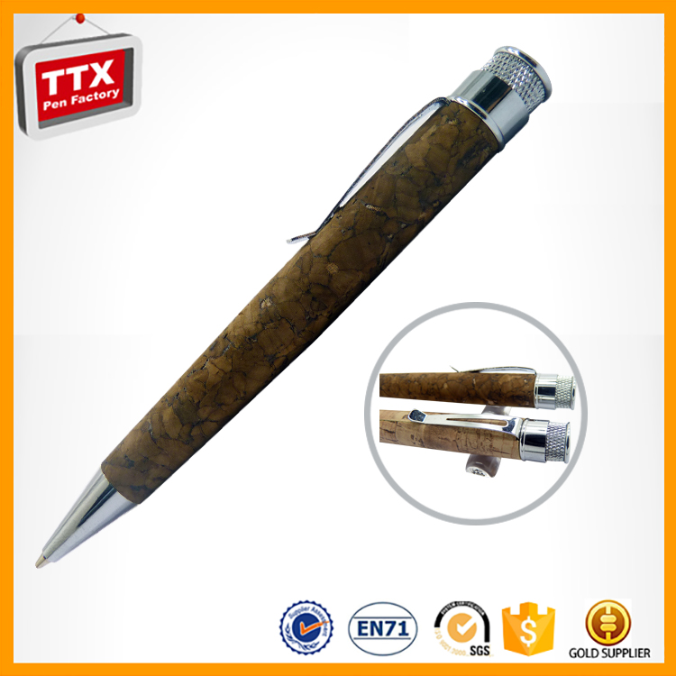 Customized promotional ball pen with water