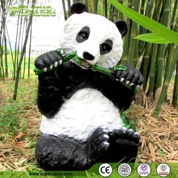 Décoration Vie Taille Panda Jardin Animaux Résine - Buy Product on ...