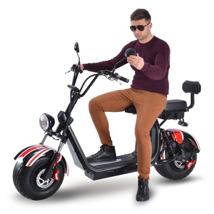 EEC COC  seev citycoco 2000w 3000w europe warehouse 2019  electric scooter with fat bike tire