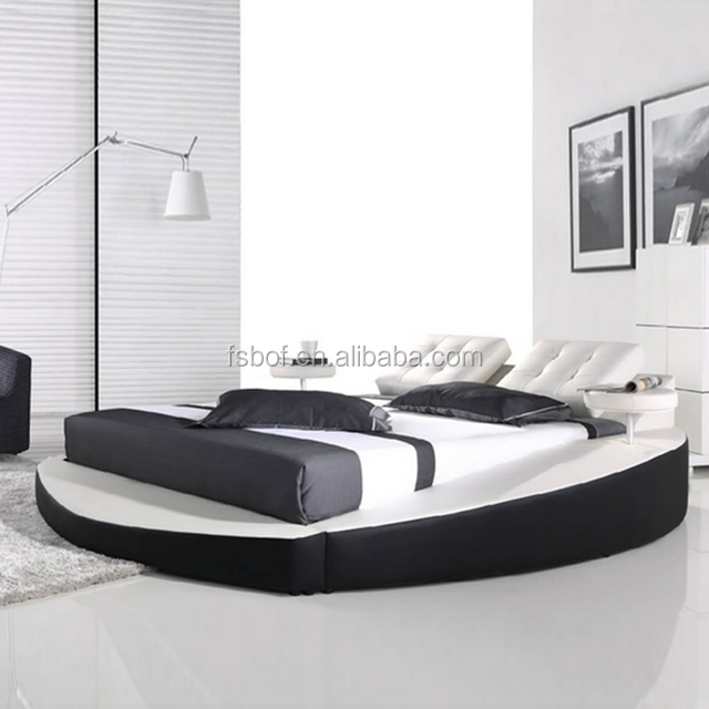 Wholesale Bedroom Furniture Cheap Round Beds King Size Bed Shaped ...