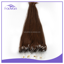 Pre Bonded Hair Color #4 Keratin Fusion Micro Loop Ring Cyber Monday Hair Extensions
