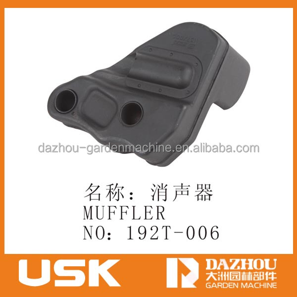MS192T gasoline chainsaw engine spare parts muffler