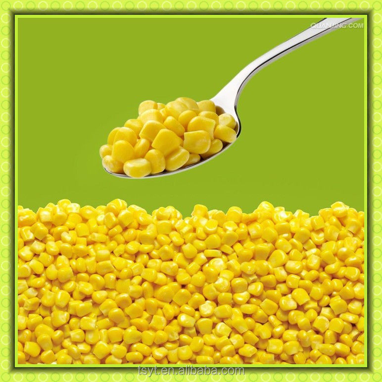 2016 Year New season He bei provience Cheapest price of Huazhen 710 Jinfei Hot Sale IQF Sweet Corn Frozen Vegetable