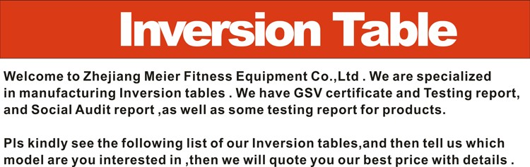 Iinversion table Pull-down machine life fitness XJ-I-16TL