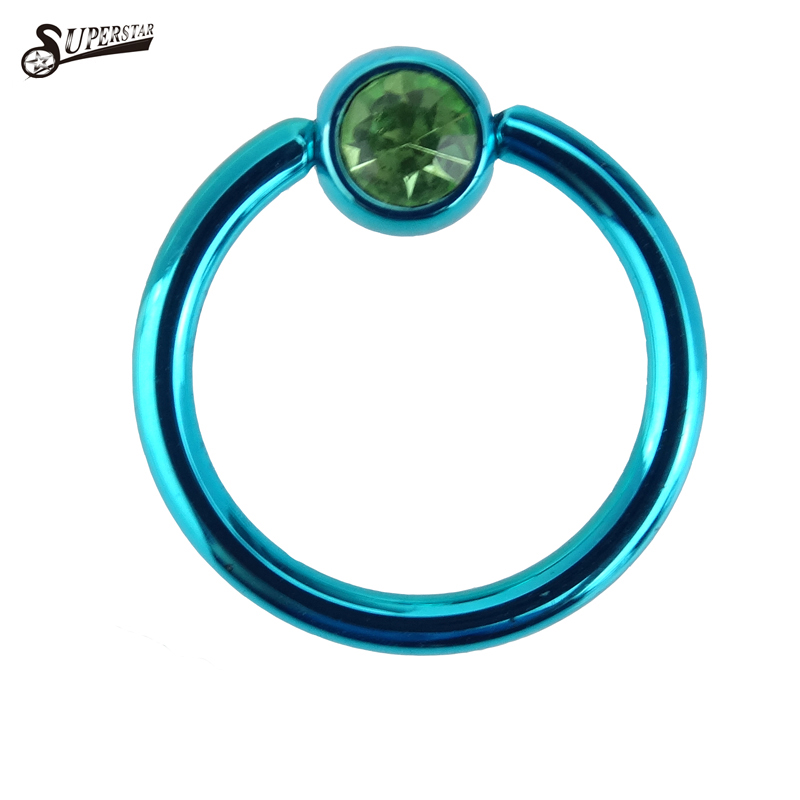 Surgical Steel 316L surgical steel ball closure ring Captive Bead Ring