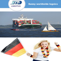 Professional consolidation lcl cargo sea freight from Shenzhen to Hamburg Germany