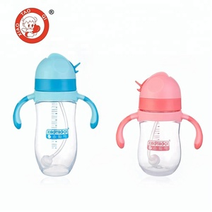 PP plastic baby drinking training sippy cup for kids