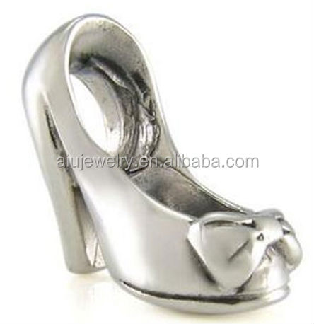Italienische sterling silber schuh perle charme