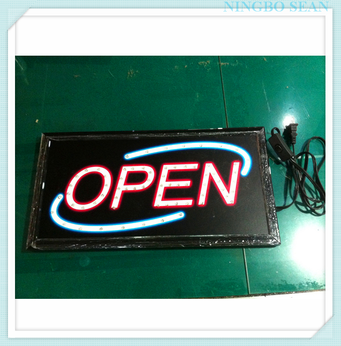 Custom Printing Neon Open Sign Made In China