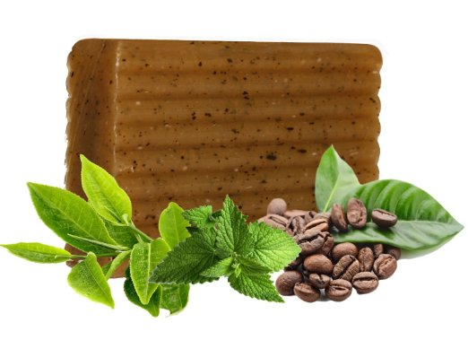 Private Label Anti Cellulite Treatment Skin Exfoliating Soap Bar