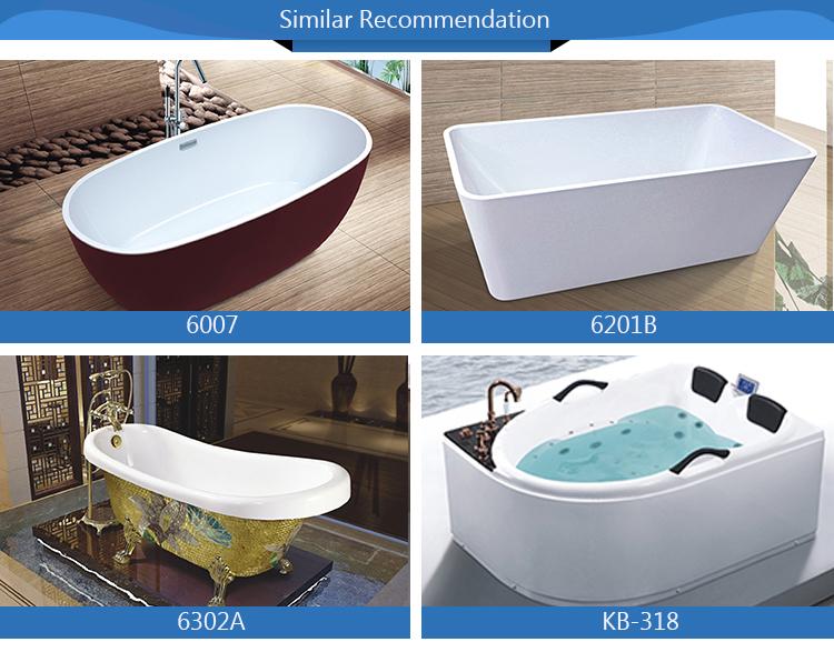 Maxi acrilico vasca da bagno free standing idromassaggio vasche