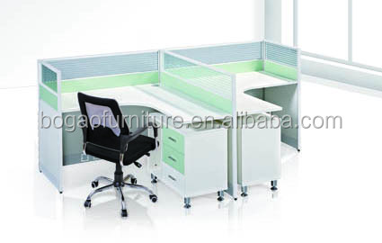 2017 the 2 seat modern office partition material