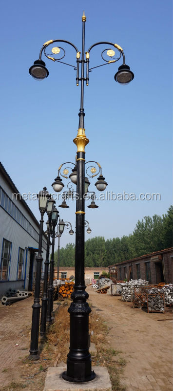 Cast Iron Led Street Lighting Road Lamp Poles Buy Lamp