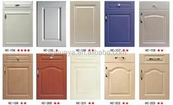 kitchen cabinet pvc mdf door panel/PVC door panel used for kitchen cabinet & Kitchen Cabinet Pvc Mdf Door Panel/pvc Door Panel Used For Kitchen ...