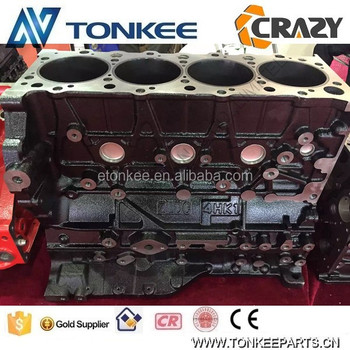 4HK1 engine cylinder block for ZX210-3