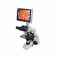 BIOBASE Touch Screen LCD Digital Biological Microscope with High Resolution, DM-125