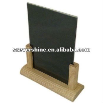 table tent holder buy table tent holder acrylic menu holder wooden