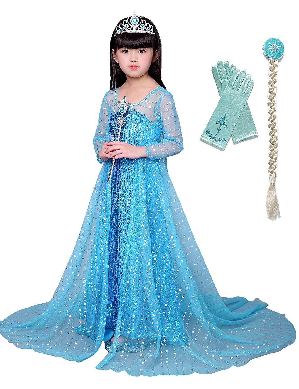 1f04b90a0 Cheap Elsa Queen Dress