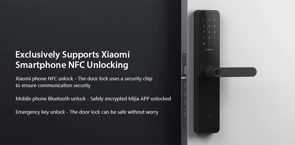 Original Xiao mi Mijia One Step Unlock App Connection Safety