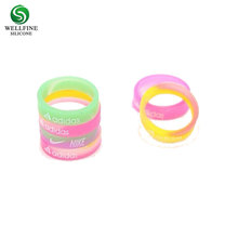 Embossed Rubber Silicone Wedding Band Ring,Custom Silicone Finger Rings