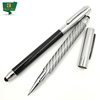 Distinguished High Quality Carbon Fiber Ball Pen With Stylus
