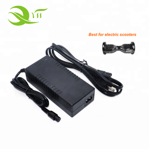 mobility scooter solar battery charger 29.4V 1A 2A 3A with 5.5*2.5mm pin XRL for ebike li-ion charger 24v