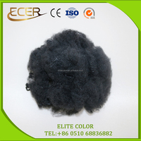 Top manufacturer of producing recycled dope dyed polyester staple fiber for spinning or non-woven fabric use PSF