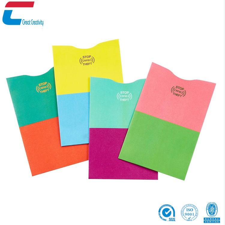 Serrure RFID/Bloc Manches (10 cartes de crédit et 2 protections de passeport) de Bagage de Voyage de Protection Contre Le Vol D'identité