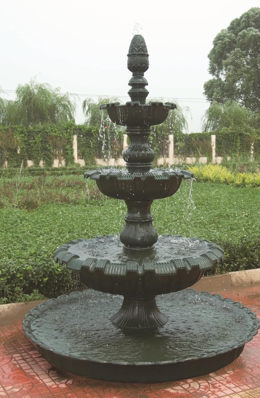 Antique Garden Water Fountain Cast Iron