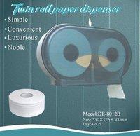 Automatic plastic towel paper dispenser