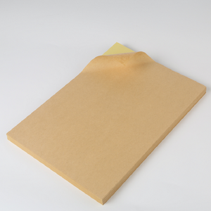 A4 sheets blank self adhesive kraft paper label sticker