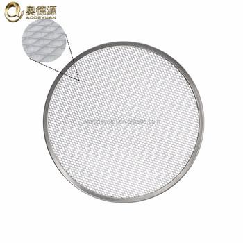 Aluminum Round Pizza Screen / Net / Wire Mesh Manufacturer - Buy ...