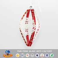 Well sellig make it christmas gift glass ornaments crafts
