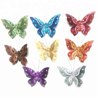 artificial butterfly decoration