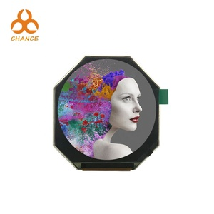 Circular display 3 inch 480*480 RGB 24bit+SPI round tft lcd screen for wearable smart watch electronic alarm clock