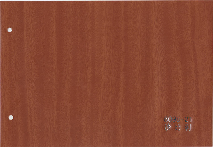 2017 hot sale wood grain pvc for sell