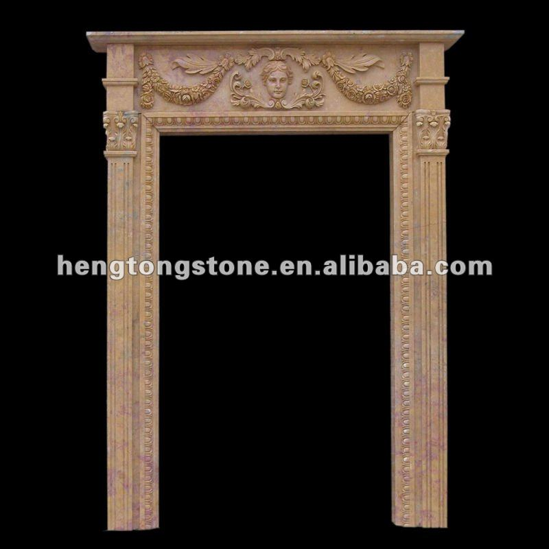 Marble Door Arch Frame Pattern Carving